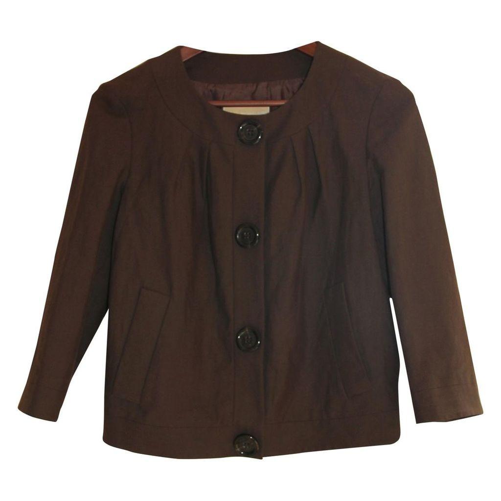 Brown Linen Jacket