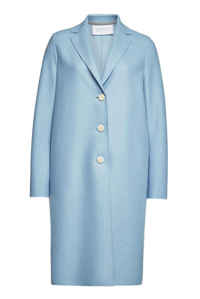 Harris Wharf London Virgin Wool Overcoat