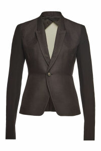 Rick Owens Cotton-Silk Soft Blazer Combo