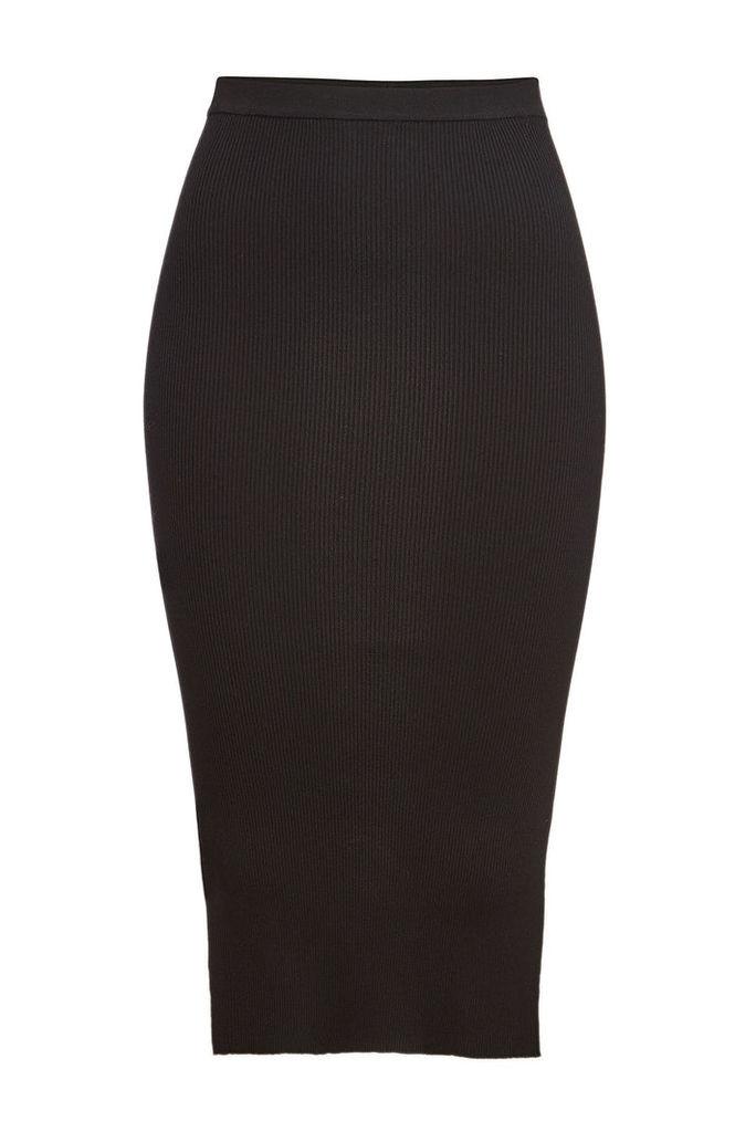 Rick Owens Ribbed Skirt