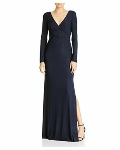 Laundry by Shelli Segal Long Sleeve Gown - 100% Exclusive