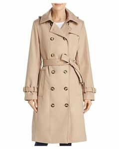 Calvin Klein Double-Breasted Button Front Trench Coat