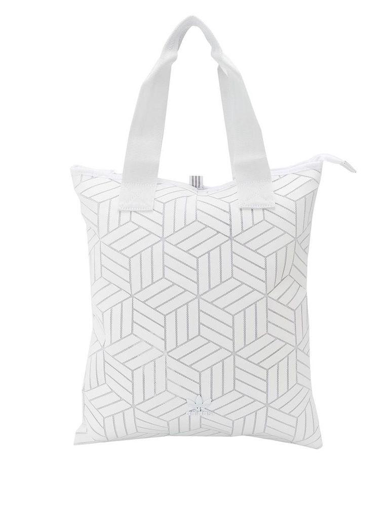 Adidas 3D shopper bag - White