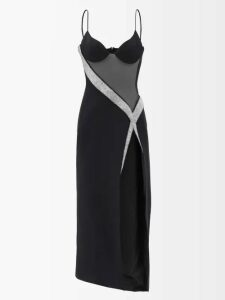 Loup Charmant - Pomona Gathered Organic Cotton Skirt - Womens - Dark Orange