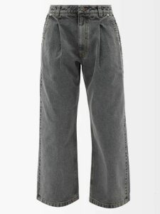 Loup Charmant - Alghero Tie Back Cotton Dress - Womens - Blue