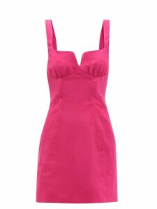 Moncler - Copenhague High Neck Down Filled Coat - Womens - Light Blue