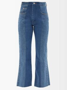 Pleats Please Issey Miyake - Laughing Rope Printed Pleated Midi Skirt - Womens - Green Multi