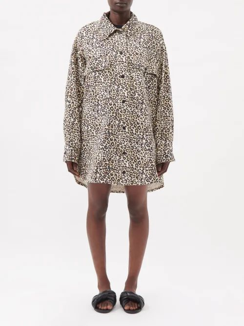 Symonds Pearmain - Silk Satin Tiered Sleeve Cotton T Shirt - Womens - White