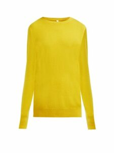 Extreme Cashmere - No.36 Classic Cashmere Blend Sweater - Womens - Yellow
