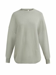 Extreme Cashmere - No. 53 Crew Hop Cashmere Blend Sweater - Womens - Light Green