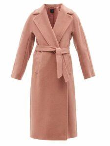 Mm6 Maison Margiela - One Shoulder Scarf Satin Dress - Womens - Red Print
