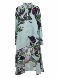 For Restless Sleepers Floral Print Asymmetric Dress