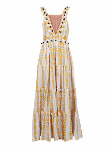 Dodo Bar Or Alicia Embroidered Dress