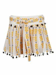 Dodo Bar Or Embroidered Detail Skirt