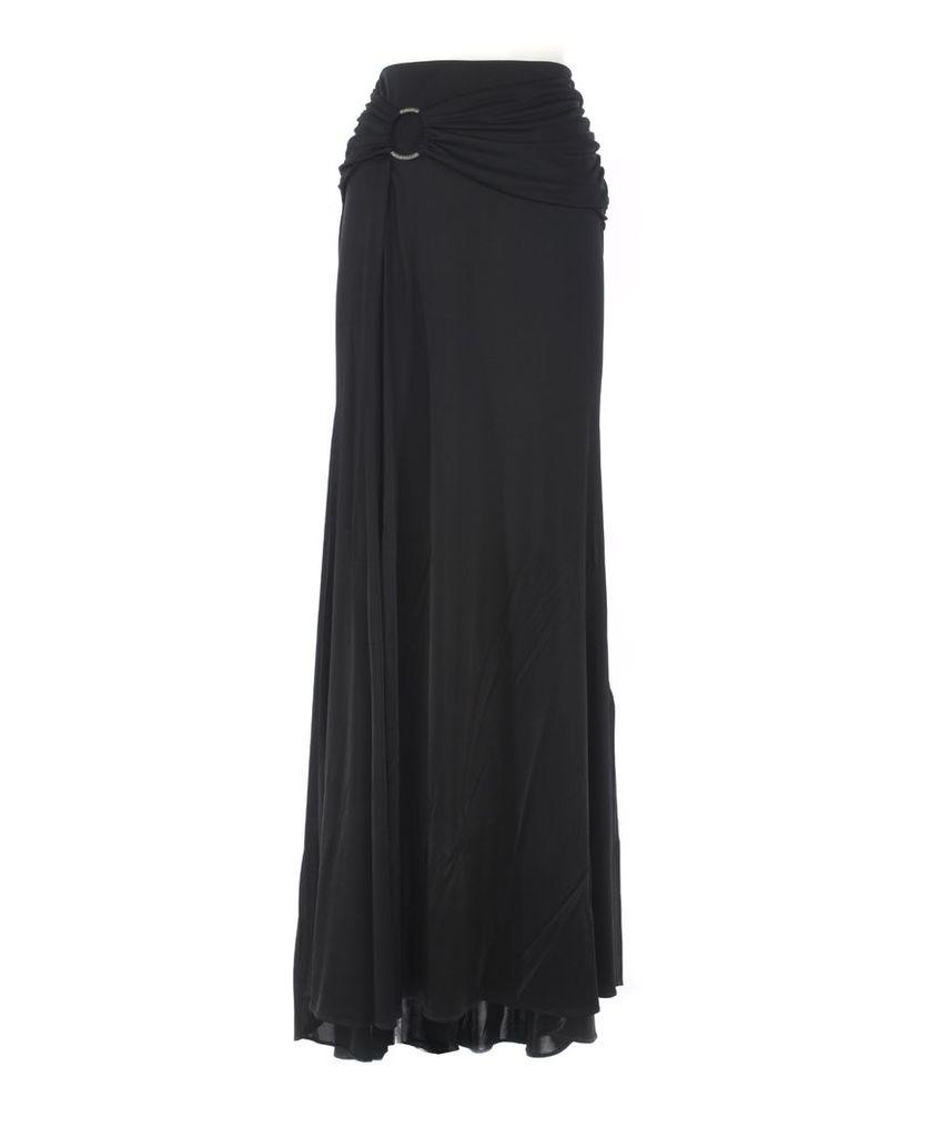 Roberto Cavalli Embellished Liquid Skirt