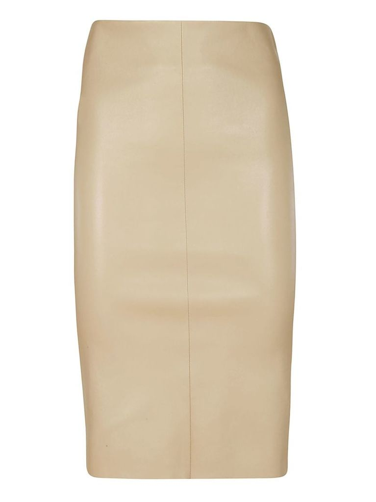 Drome Fitted Midi Skirt