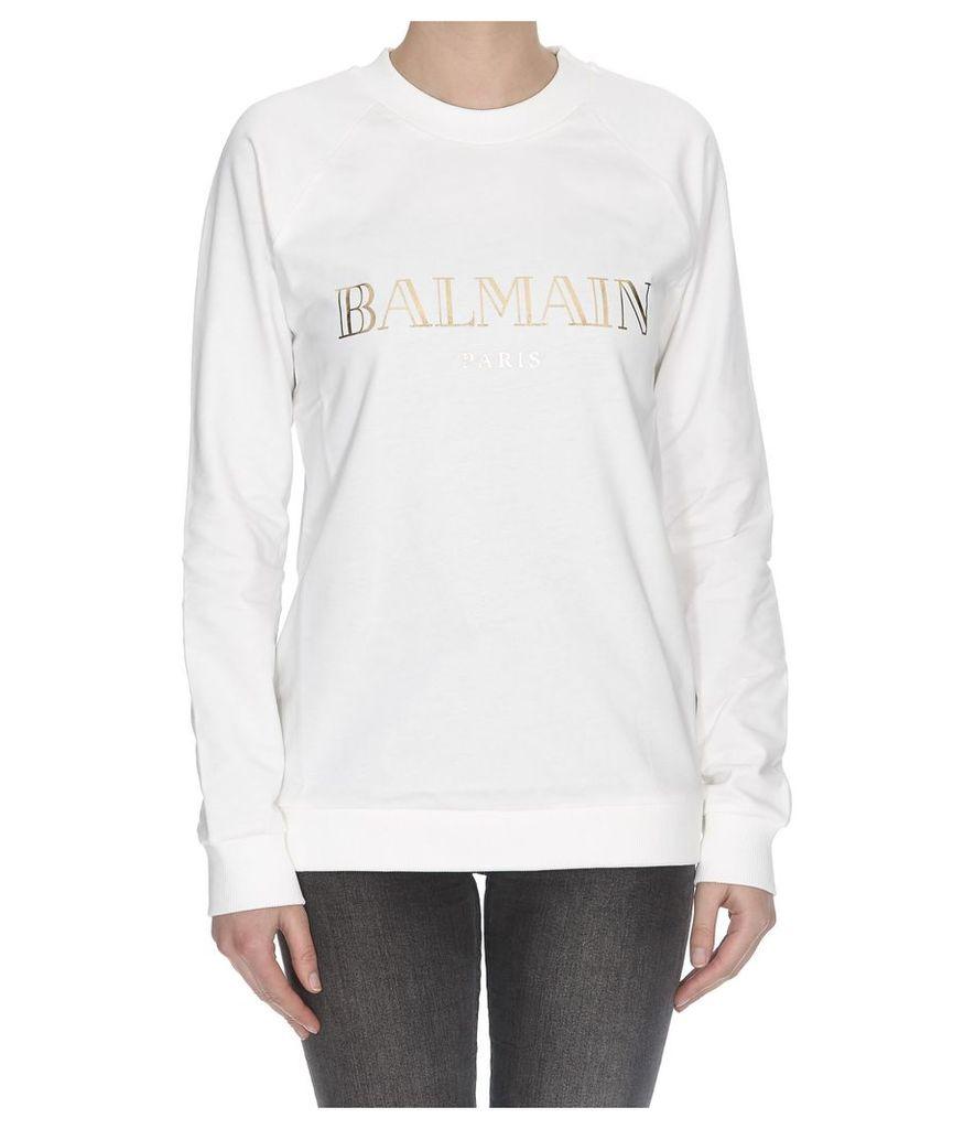 Balmain Logo Balmain Sweatshirt