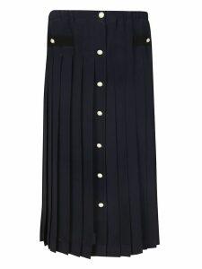 Miu Miu Buttoned Midi Skirt
