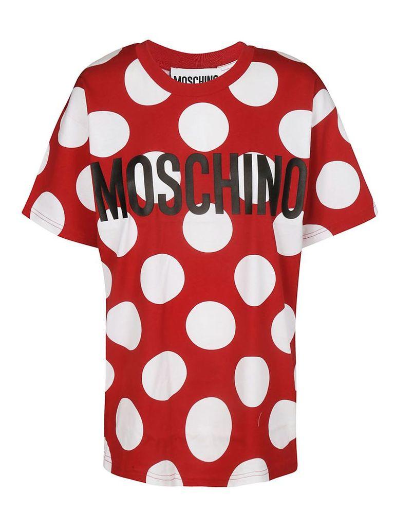 Moschino Polka Dot Logo T-shirt