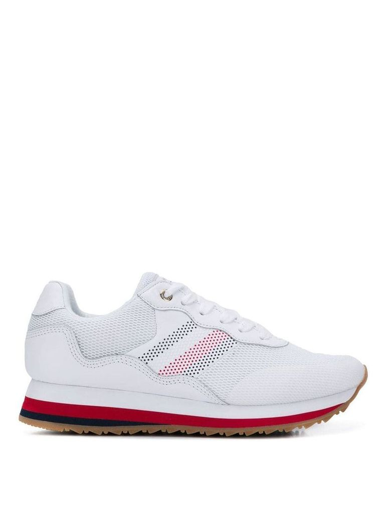 Tommy Hilfiger lace-up sneakers - White