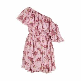 Giambattista Valli Floral-print Silk Chiffon Mini Dress