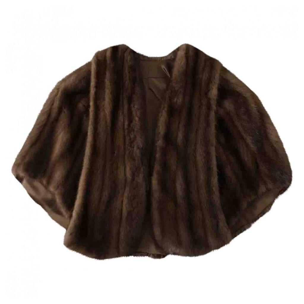 Mink cape