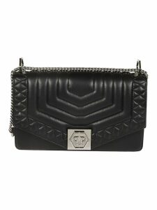 Philipp Plein Quilted Shoulder Bag