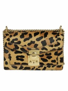Miu Miu Leopard Shoulder Bag