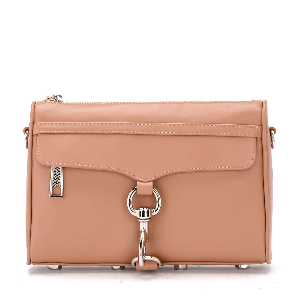 Rebecca Minkoff Mini M.a.c. Desert Beige Leather Shoulder Bag