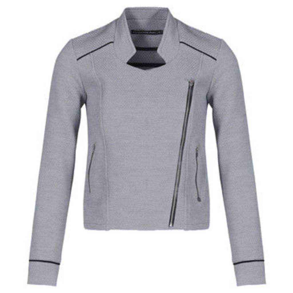 Mado Et Les Autres  Jacquard jacket  women's Jacket in Grey