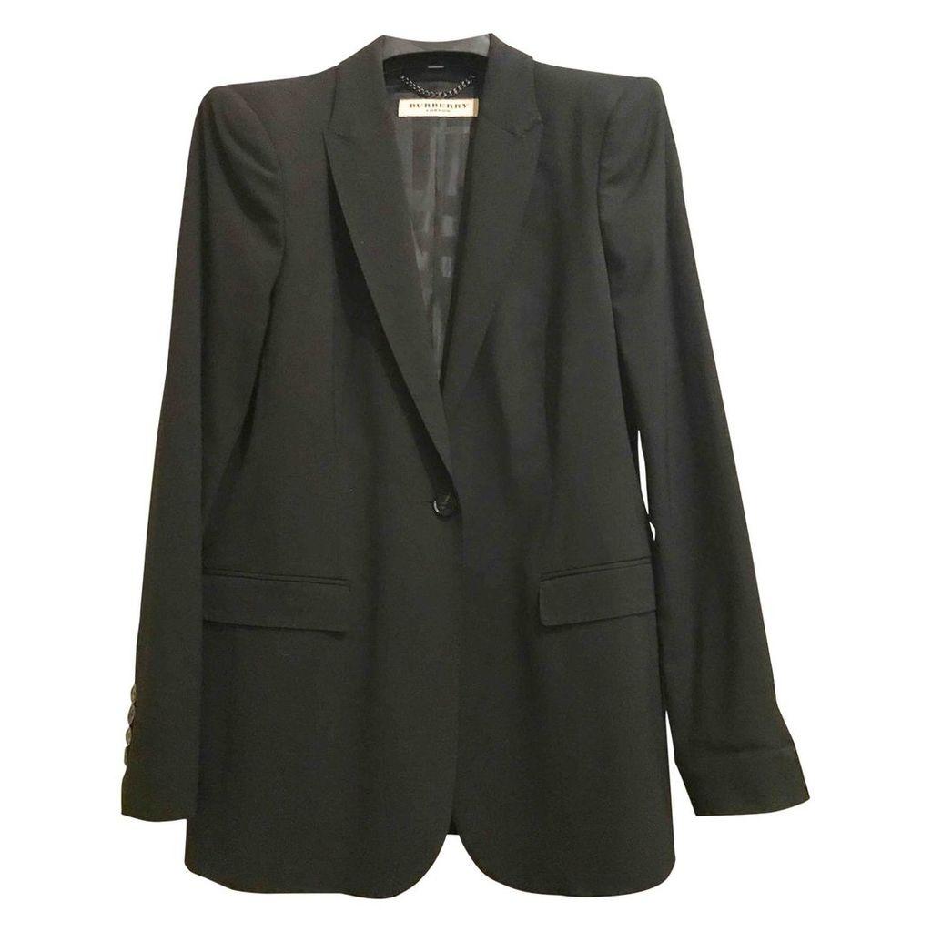 Black Synthetic Jacket