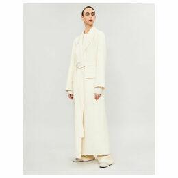 Newen wool-blend coat