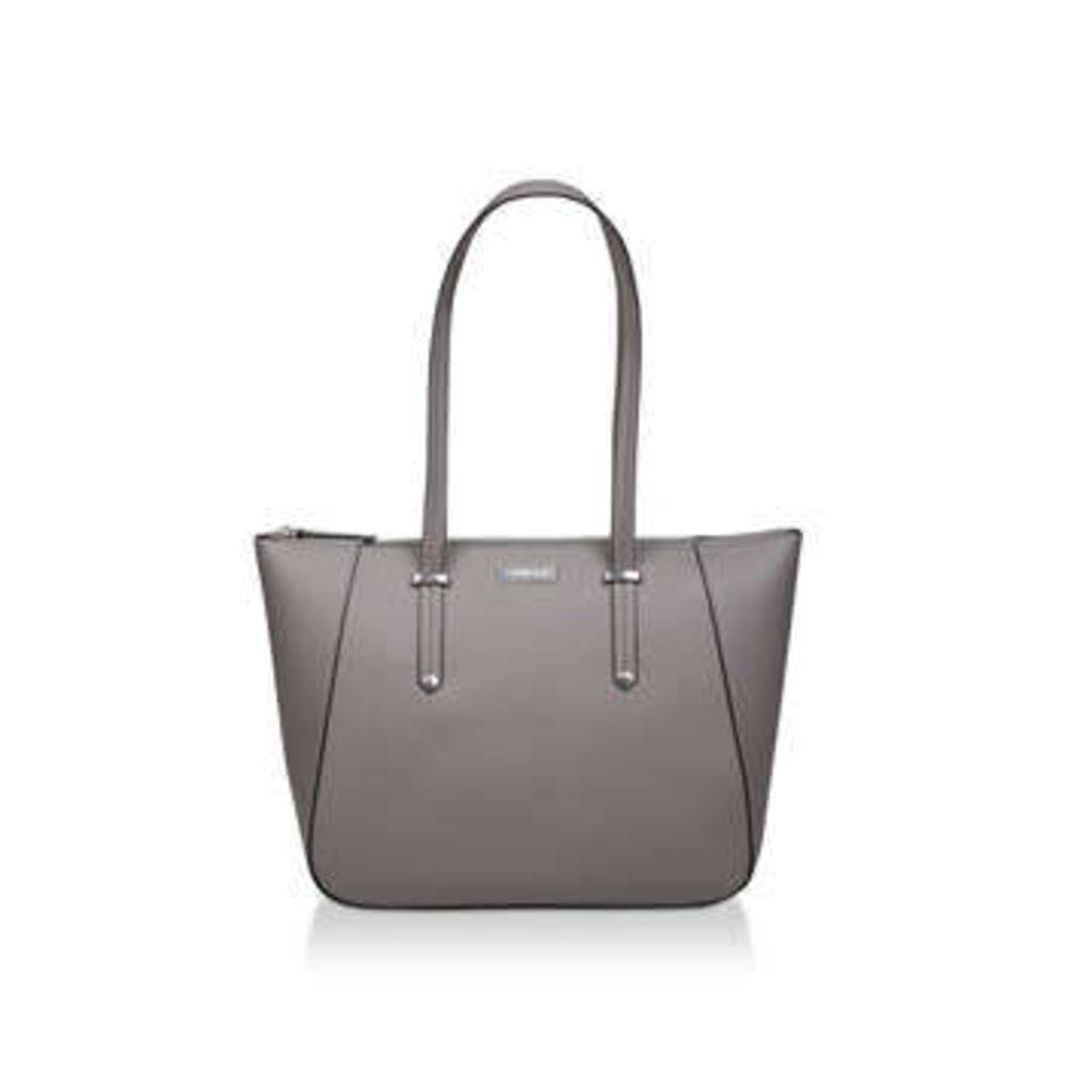 Carvela Celeste Winged Tote - Grey Tote Bag