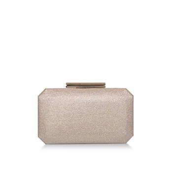 Carvela Ola - Metallic Gold Clutch Bag