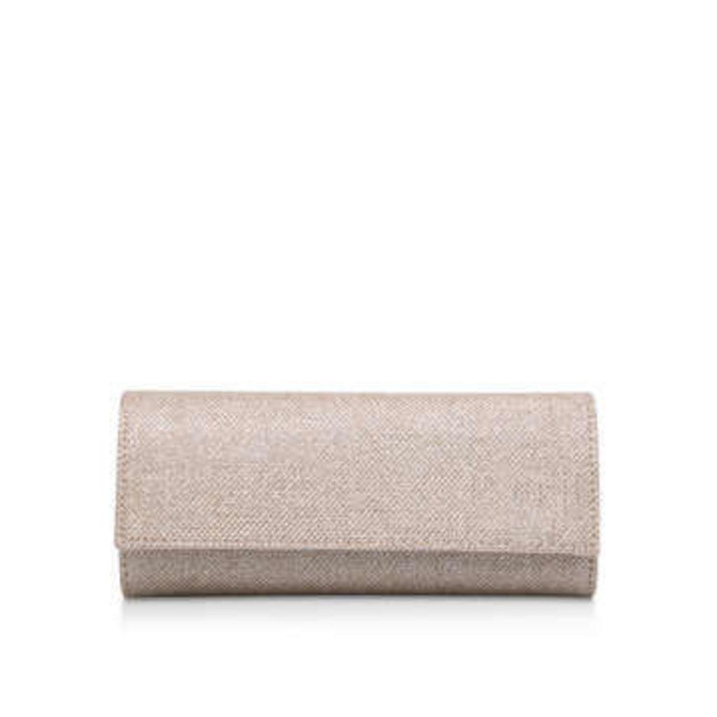 Carvela Kolluding - Metallic Gold Clutch Bag