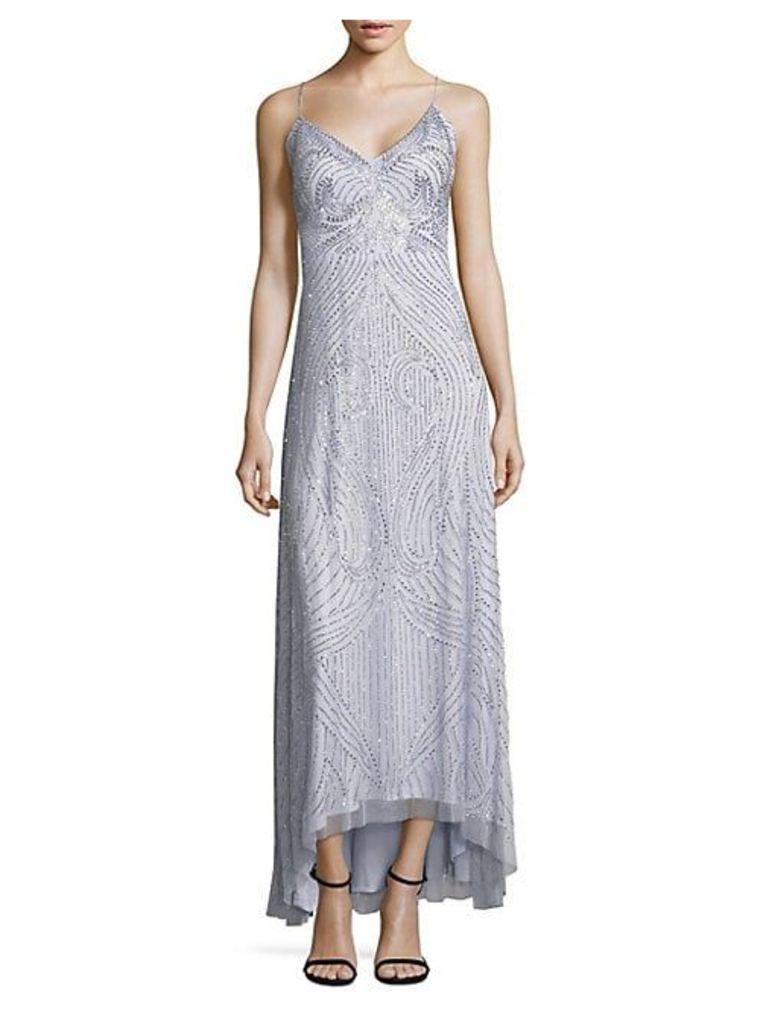 Strappy Hi-Lo Dress