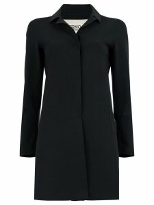 Herno plain car coat - Black