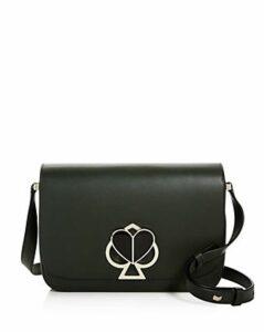 kate spade new york Medium Flap Leather Shoulder Bag