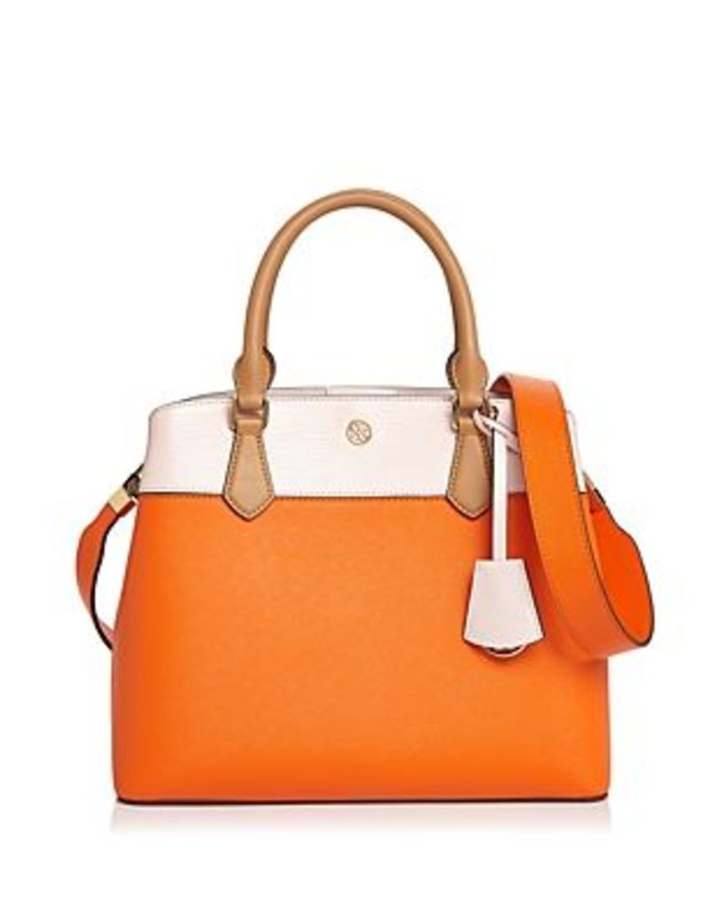 Tory Burch Robinson Color-Block Tote