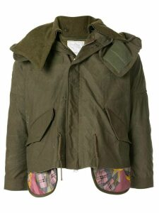 Readymade layered style jacket - Green