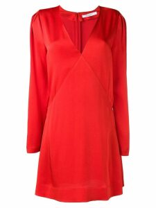 Givenchy long sleeve mini dress - Red