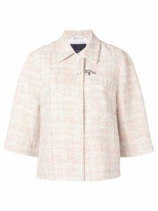 Fay oversized jacket - Neutrals
