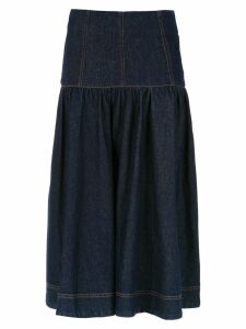 Andrea Bogosian denim midi skirt - Blue