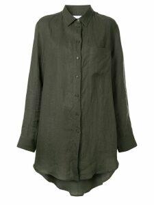 Asceno longline shirt - Green