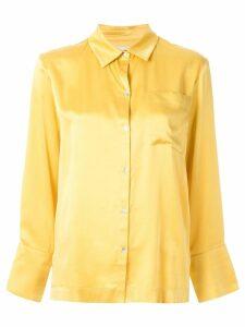 Asceno classic blouse - Yellow