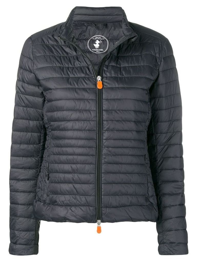 Save The Duck short padded jacket - Black