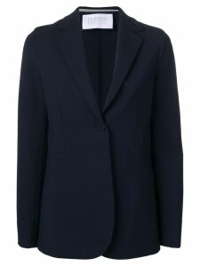 Harris Wharf London one button fitted blazer - Blue