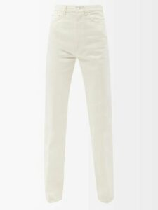 Fendi - High Rise Velvet Skirt - Womens - Yellow
