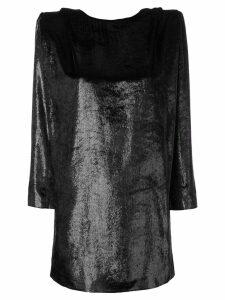 Dundas glitter detail dress - Black