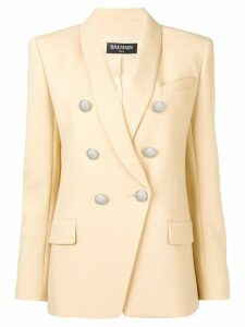 Balmain slim-fit blazer - NEUTRALS